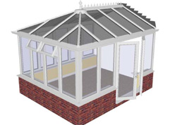 conservatory kit plan