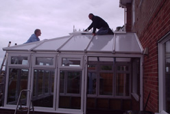 conservatory kit roof assembly